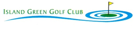 Island Green Golf Logo